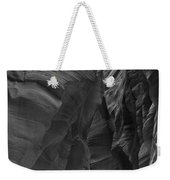 Under The Desert In Black And White Weekender Tote Bag
