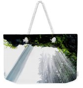 Under The Falls Weekender Tote Bag