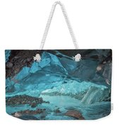 Under The Glacier Weekender Tote Bag