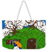 Under The Hill Weekender Tote Bag