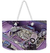 Under The Hood 66 Impala_1b Weekender Tote Bag