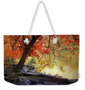 Under The Maple Weekender Tote Bag