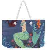 Under The Merlight Sea Weekender Tote Bag