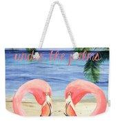 Under The Palms Weekender Tote Bag