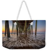 Under The Pier At Old Orchard Beach Weekender Tote Bag