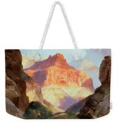Under The Red Wall Weekender Tote Bag