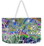 Under The Sea Abstract Weekender Tote Bag
