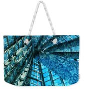 Under The Sea Dwelling Abstract Weekender Tote Bag