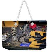 Under The Seat Weekender Tote Bag