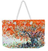 Under The Shade Of The Flamboyant Weekender Tote Bag