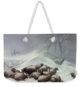 Under The Shelter Of The Shapeless Drift Weekender Tote Bag by Thomas Sidney Cooper
