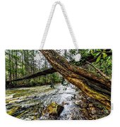 Under The Swinging Bridge Weekender Tote Bag
