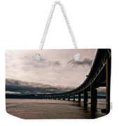 Under The Tappan Zee Weekender Tote Bag