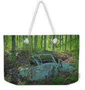 Under The Trail Weekender Tote Bag