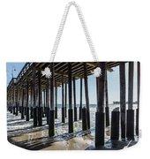 Under The Ventura Pier In Southern California Weekender Tote Bag