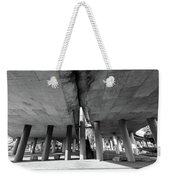 Under The Viaduct A Urban View Weekender Tote Bag