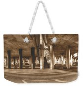 Under The Viaduct B Panoramic Urban View Weekender Tote Bag