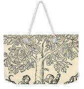 Under The Village Linden Tree Weekender Tote Bag