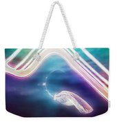 Under The Wave Weekender Tote Bag