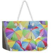 Under Umbrellas Weekender Tote Bag