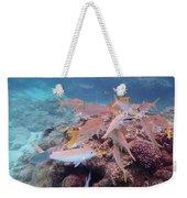 Under Water Fiji Weekender Tote Bag