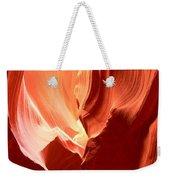 Underground Pastel Flames Weekender Tote Bag