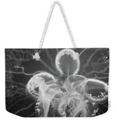 Underneath The Moon Jellyfish Weekender Tote Bag