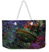 Undersea Clam Weekender Tote Bag