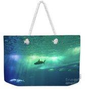 Undersea Scene Background Weekender Tote Bag