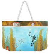Underwater Catalina Weekender Tote Bag