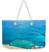 Underwater Crater In Galapagos Weekender Tote Bag