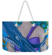 Underwater Mermaid Weekender Tote Bag