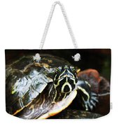 Underwater Turtle Weekender Tote Bag