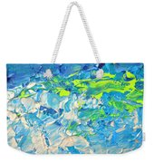 Underwater Wave Weekender Tote Bag