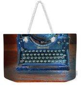 Underwood Typewriter Weekender Tote Bag