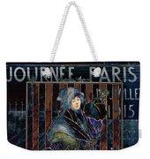 Une Valentine Parisienne Weekender Tote Bag by Sarah Vernon