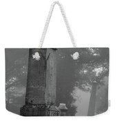 Uneven After Time Weekender Tote Bag