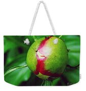Unexploded Peony Weekender Tote Bag