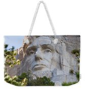 Unfinished Lincoln 3 Weekender Tote Bag