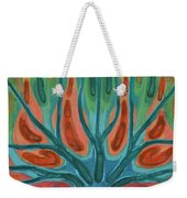 Unfinished Tree Weekender Tote Bag