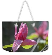 Unfolding - Star Magnolia Weekender Tote Bag