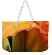 Unfolding To Orange Weekender Tote Bag