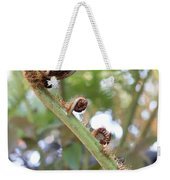 Unfurling Weekender Tote Bag