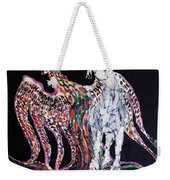 Unicorn And Phoenix Merge Paths Weekender Tote Bag