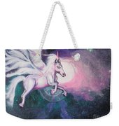 Unicorn And The Universe Weekender Tote Bag