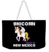 Unicorn Bornknewjmexico Weekender Tote Bag