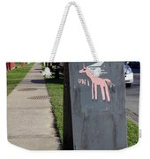 Unicorn Mail Delivery Weekender Tote Bag