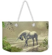 Unicorn Moon Weekender Tote Bag
