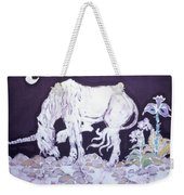 Unicorn Pauses Weekender Tote Bag