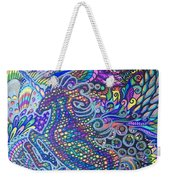 Unicorn Rainbow  Weekender Tote Bag
